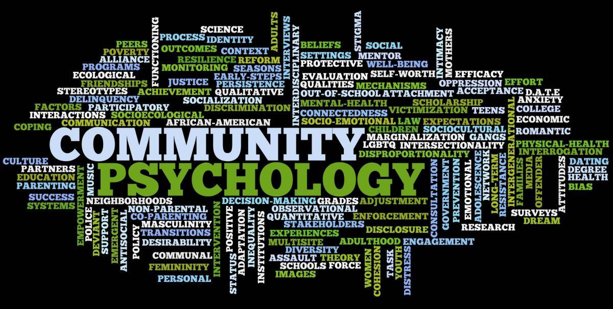 Community Psychology Department Of Psychology